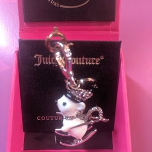 Juicy Couture charm-ice skate charm